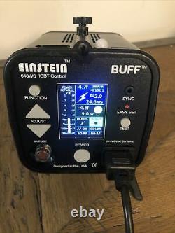 Paul C Buff Einstein 640 Ws Unité Flash Avec Cordon D'alimentation. Fonctionne Parfaitement