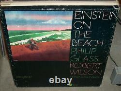 Philip Glass / Robert Wilson Einstein Sur La Plage (rock) Livret Boîte De 4 Lp