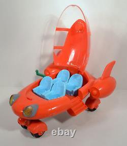 Rare 2006 Pat Red Rocket Ship 12 Action Figure Vehicle Disney Little Einsteins