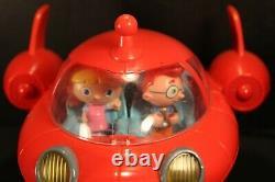 Rare Disney Little Einsteins Patpat Rocket Navire Avec Des Figures, Des Lumières, Des Sons Fonctionne