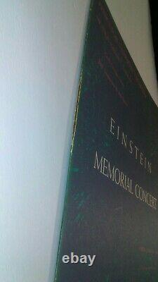 Rare Vinyle Albert Einstein Princeton Memorial Concert Album Limited Edition 1955