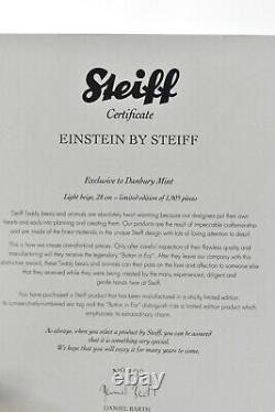 Steiff 690006 Einstein Limited Edition Retraité & Tagged