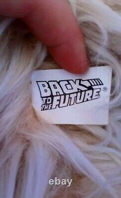 Super Rare Retour Vers L'avenir Einstein Dog Peluche Disney