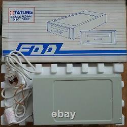 Tatung Einstein External Floppy Disk Drive Unit Case Avec Psu Rare Retro Tc-01