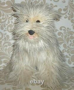 Vintage 1980's Rare Back To The Future Einstein Soft Fluffy Peluche Dog 15 C2