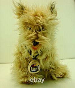 Vintage 1980's Rare Retour Vers Le Futur Einstein Soft Fluffy Plush Dog 15