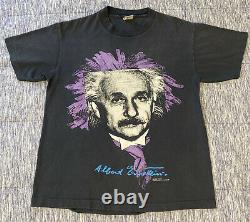 Vintage Albert Einstein T-shirt Moyen