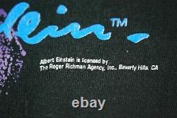 Vintage Années 90 Albert Einstein Pop Art T Shirt Andazia Science Physics Nerd Mens M