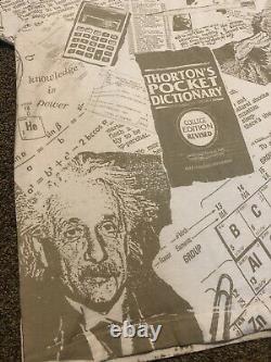Vintage Rose Hulman Engineers All Over Imprimer Einstein M. Rogers Education