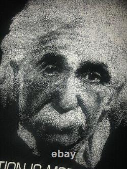 Vintage USA Sng Stch Einstein 80s Imagination Est Plus Important Que Connaissance