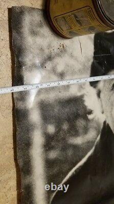 Vtg 1987 Full Body Poster Albert Einstein Litho Print Art Picture 74x26