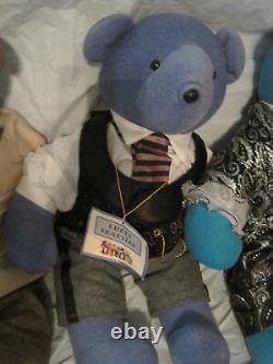 $lot De 9north American Bear Companyeinstein Liberace Bogartlbdt1/2